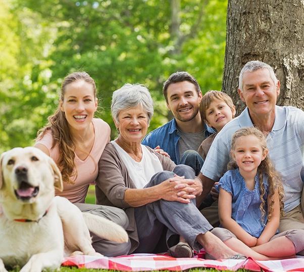 familias completas con seguros